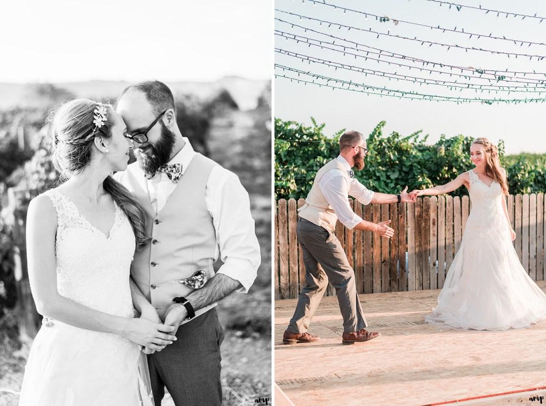 April & Bruce's Palisade Wedding in a Vineyard | amanda.matilda.photography