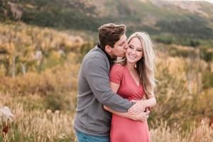 Joey & Morgan's Grand Mesa Fall Engagement | amanda.matilda.photography