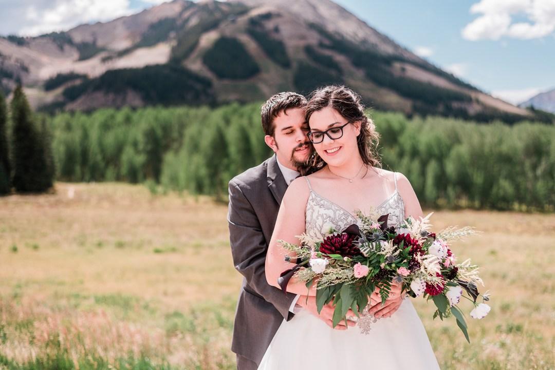 Nate & Alyse's Intimate Crested Butte Wedding at The Mountain Wedding Garden | amanda.matilda.photography