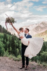 Mark & Rae's Ouray wedding at Yankee Boy Basin and Beaumont Hotel | amanda.matilda.photography