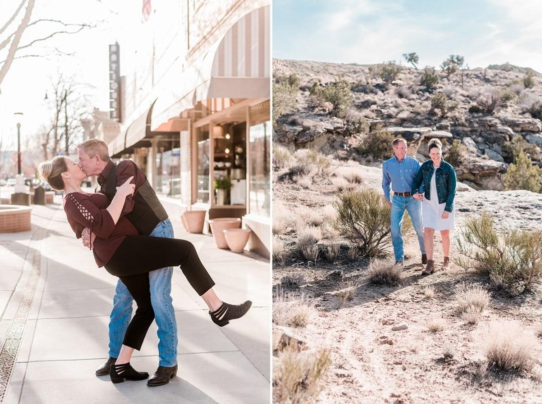 Bob & Jamie's Engagement photos in the Redlands by Amanda Matilda Photography