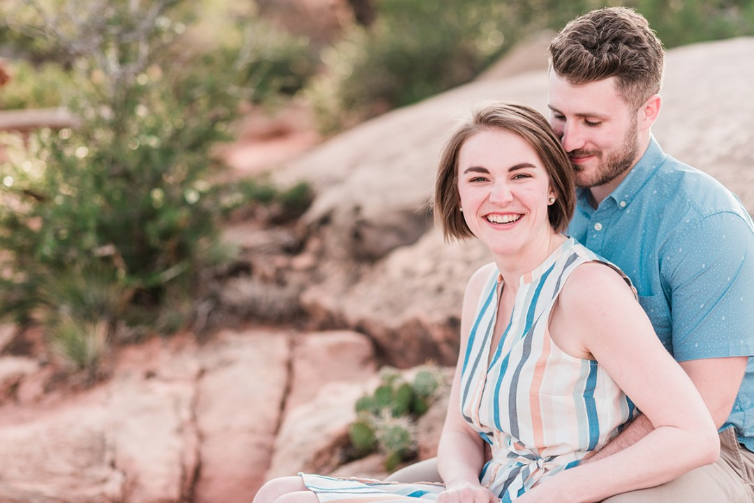 Brennan & Laura | Honeymoon Photos in Grand Junction