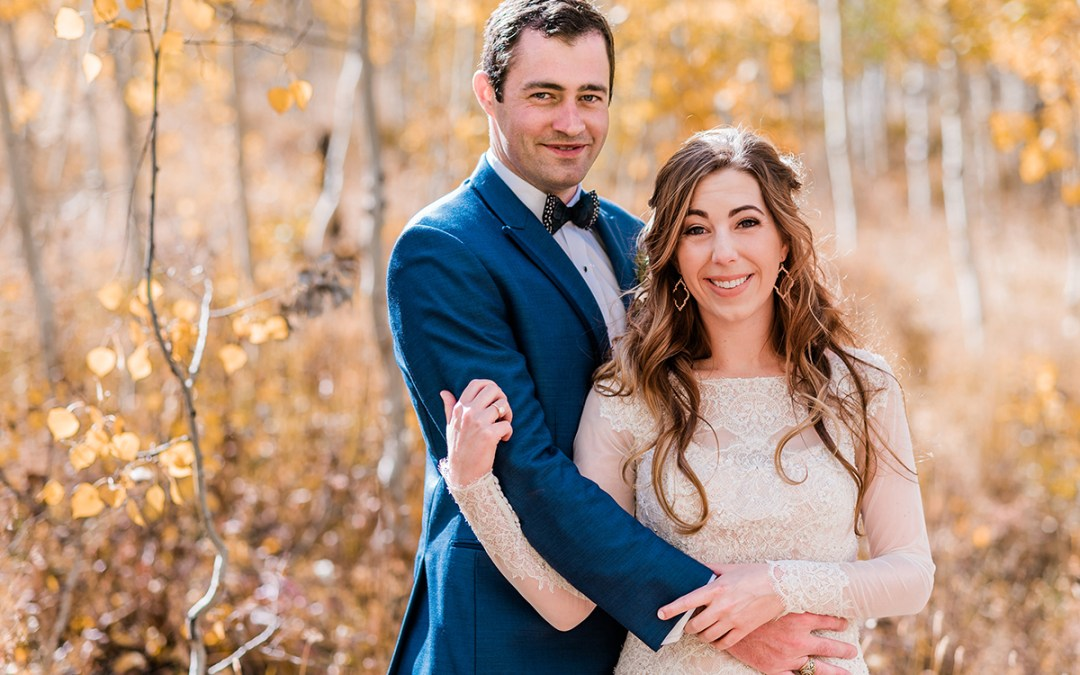 Getting Married at the Woods Walk in Crested Butte