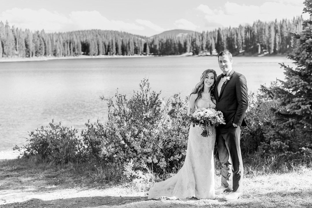 William & Amy at Lake Irwin in Crested Butte