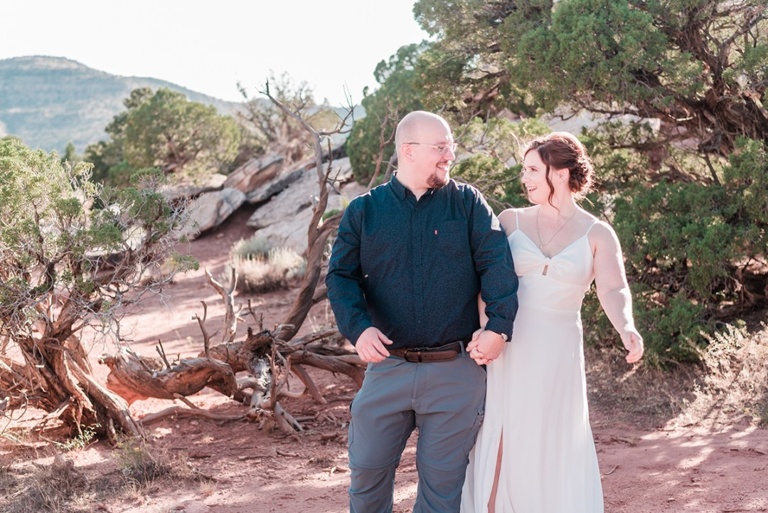 Graham & Elizabeth | Elopement on the Colorado National Monument