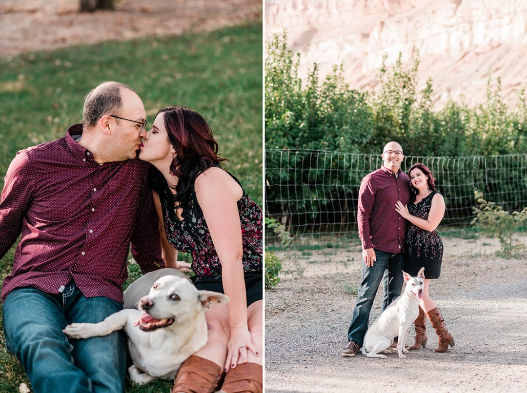 Jesse & Tabitha | Family and Couples Photos in Palisade