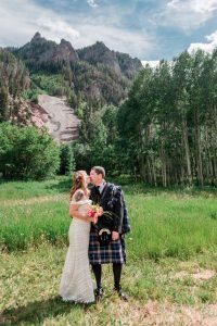 Wedding at Ouray Amphitheater | Amanda Matilda Photography