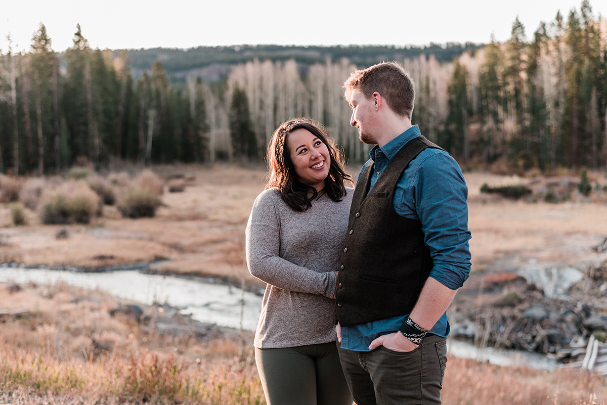 Michael & Stephanie | Sunrise Elopement on the Grand Mesa