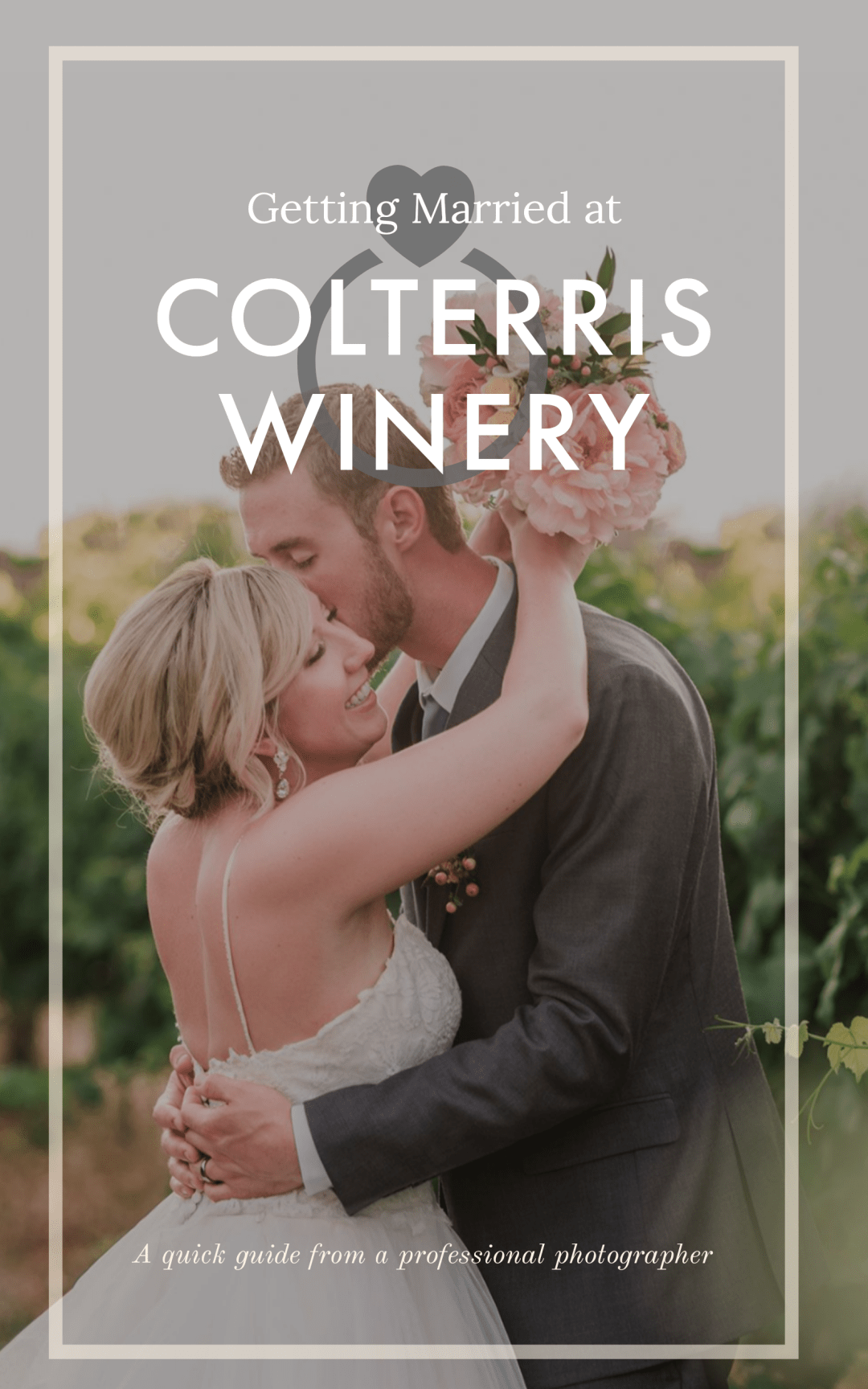 Pin this! Getting Married at Colterris Winery in Palisade Colorado