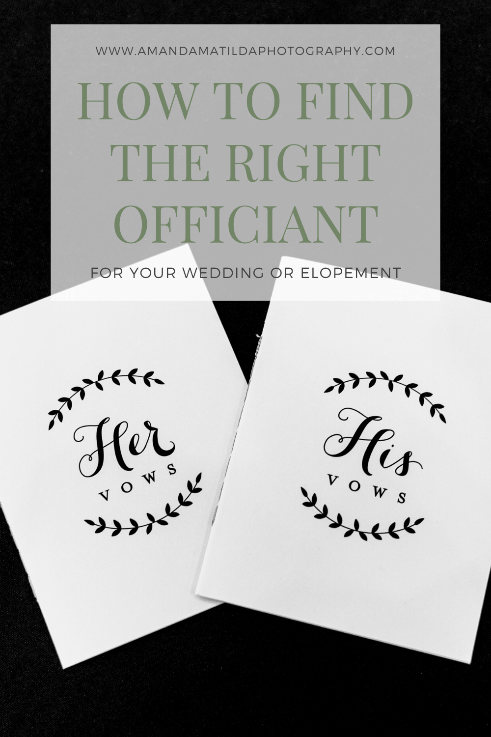 How to Find the Right Officiant for Your Wedding or Elopement   Amanda Matilda Photography