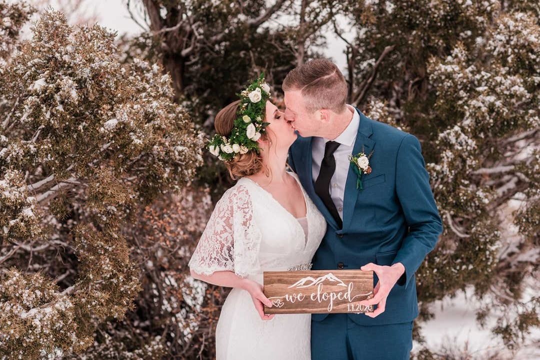 James & Chelsea | New Year's Day Elopement