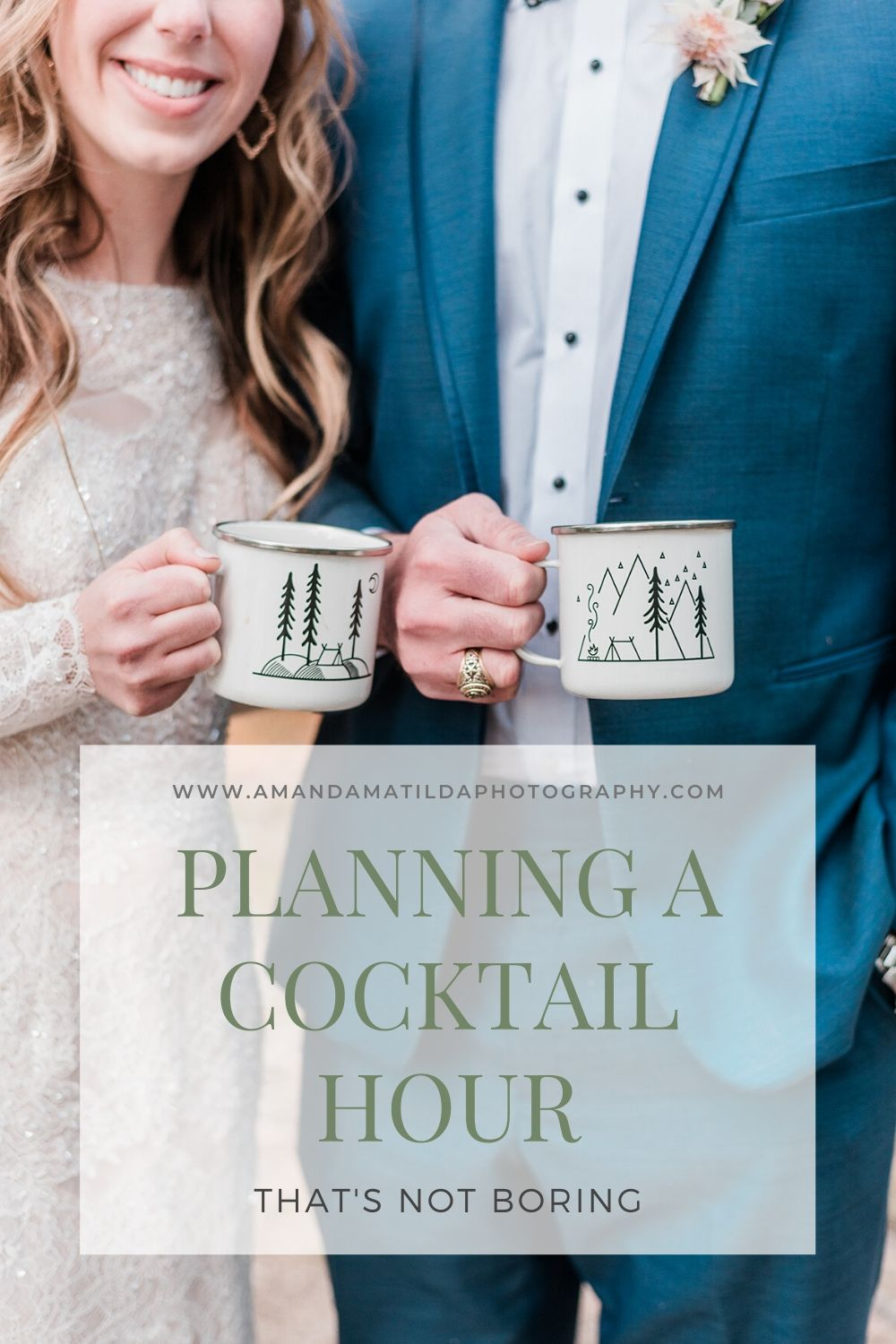 Planning a Cocktail Hour That's Not Boring | Amanda Matilda Photography