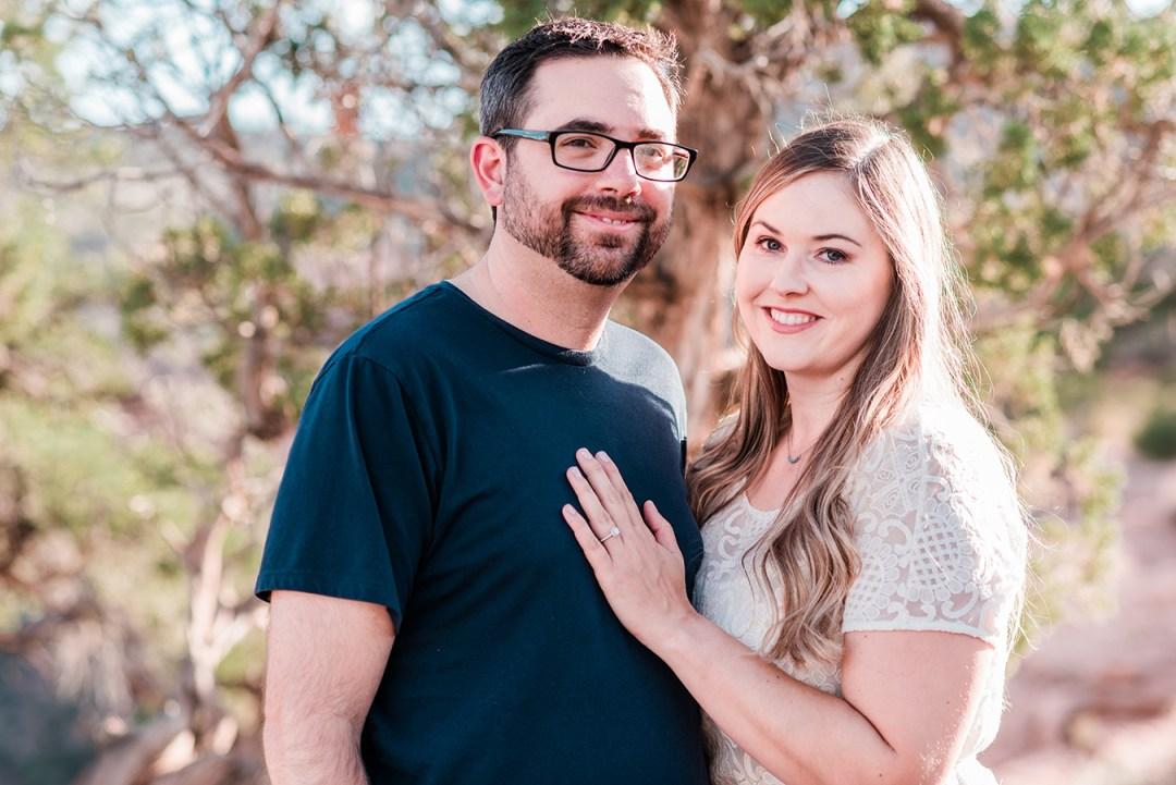 Laura & Joe | Engagement Photos on the Colorado National Monument