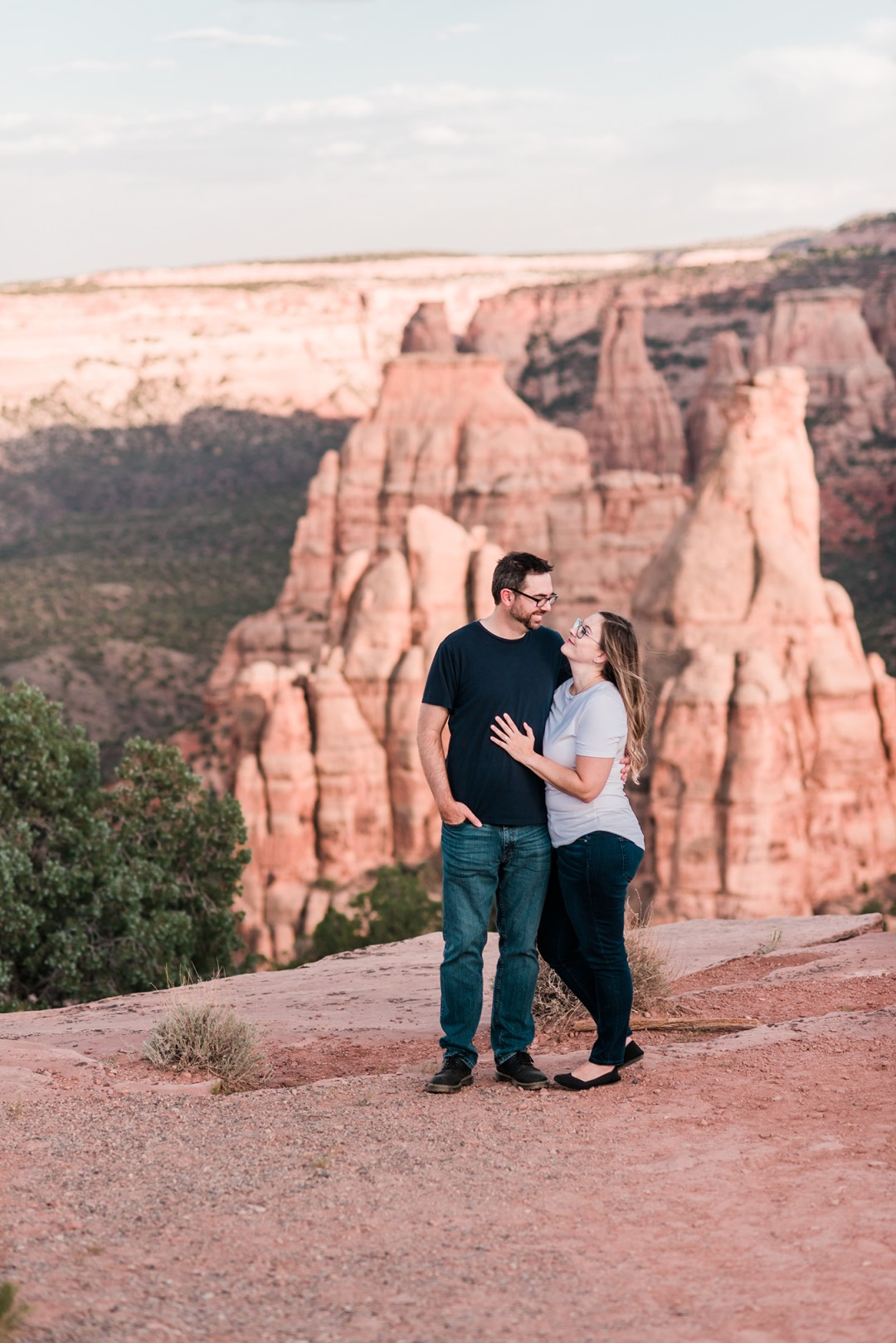 Laura & Joe | Engagement Photos on the Colorado National Monument
