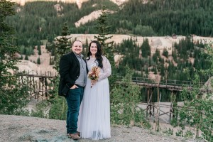 Justyne & Larson | Ouray Elopement on Red Mountain Pass