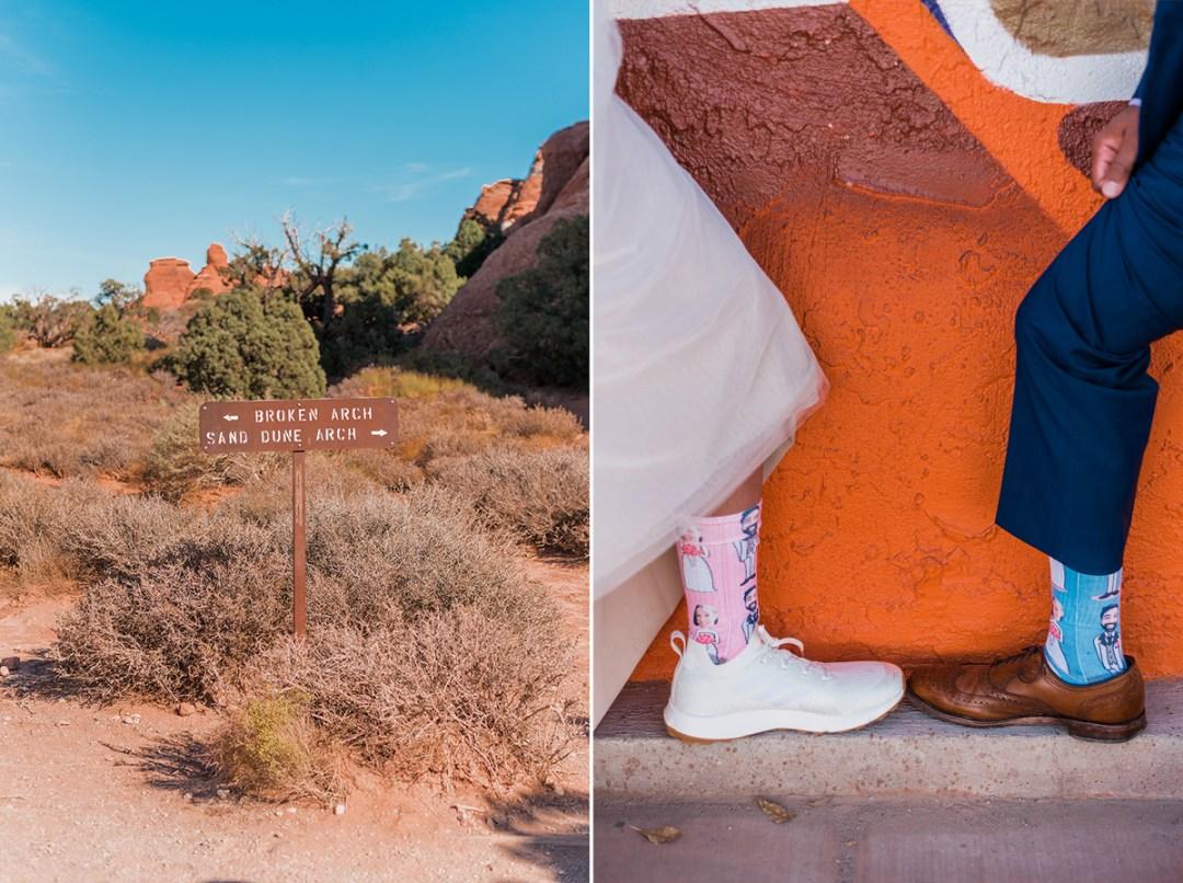 Kayton & Amanda   Moab Elopement at Arches National Park