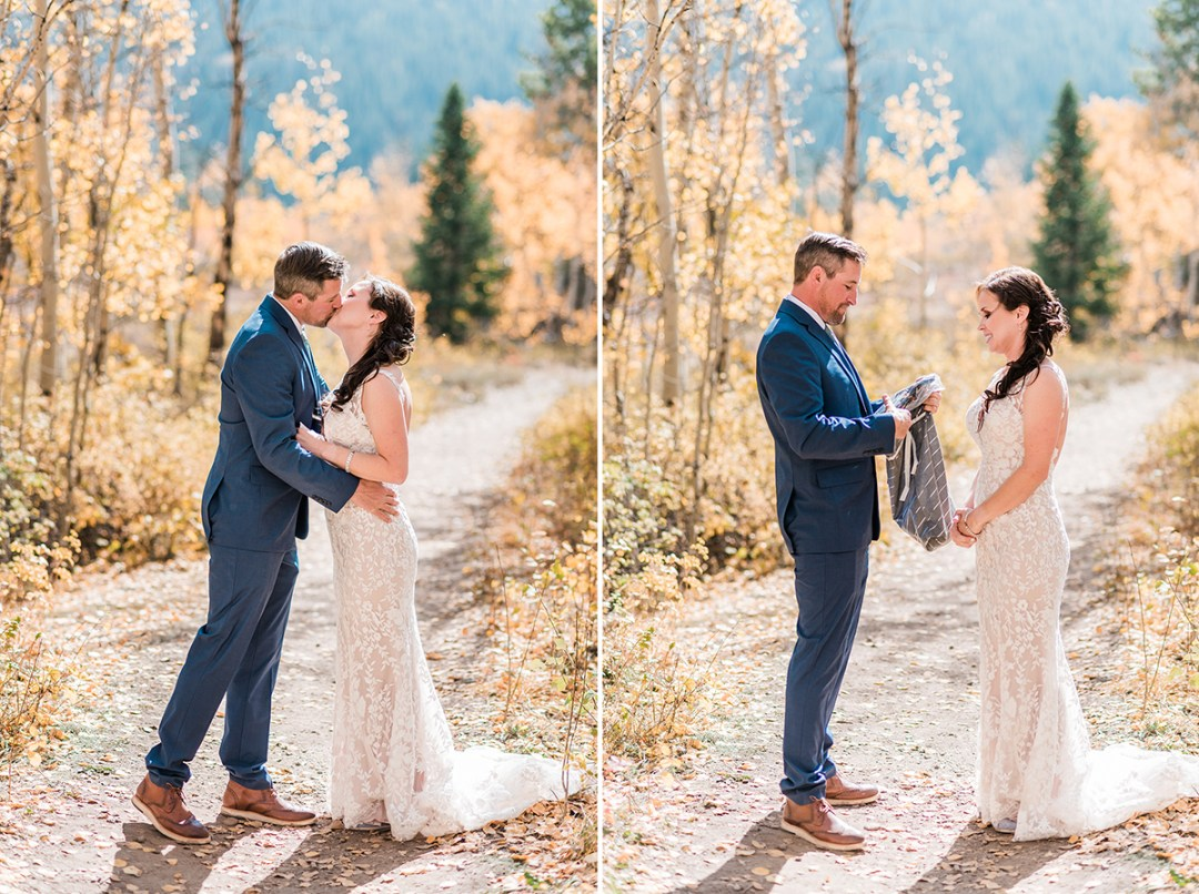 Trista & Daren | Crested Butte Wedding at the Woods Walk