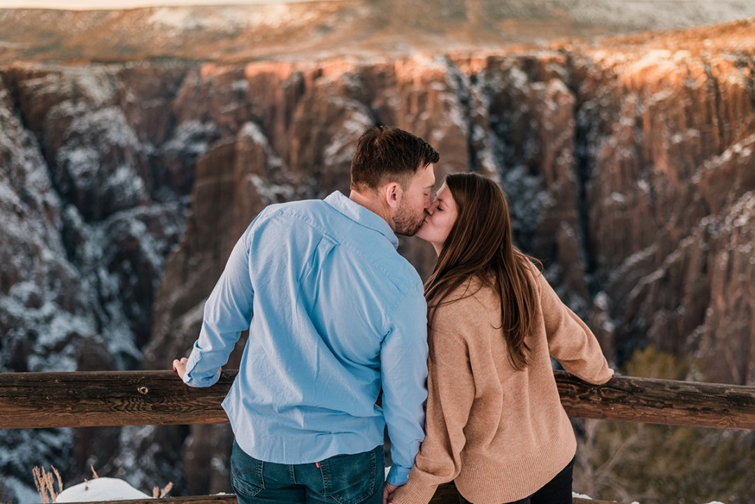 Amanda & Tucker | Engagement Photos at Black Canyon of the Gunnison