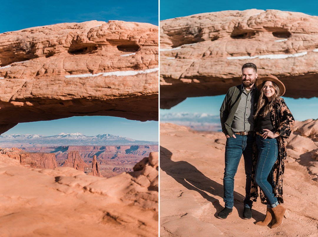 Sean & Brenda | Engagement Photos in Moab