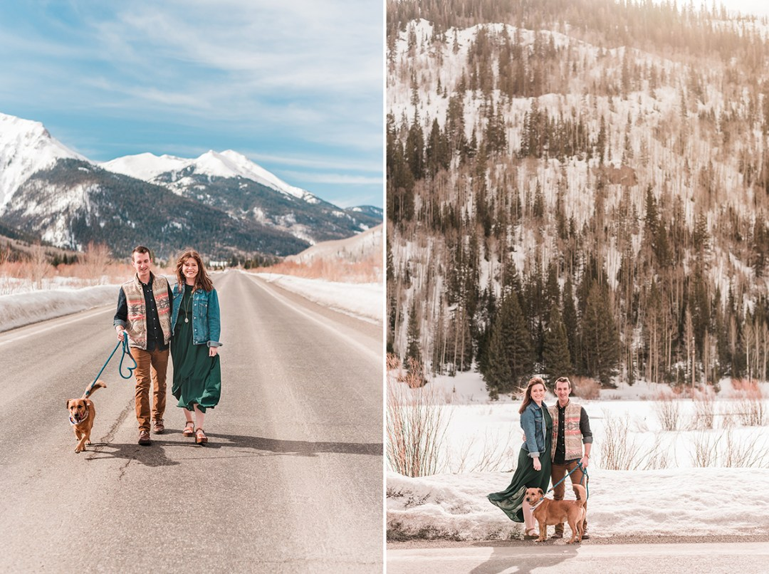 Mallory & Kent | Ouray Engagement Photos