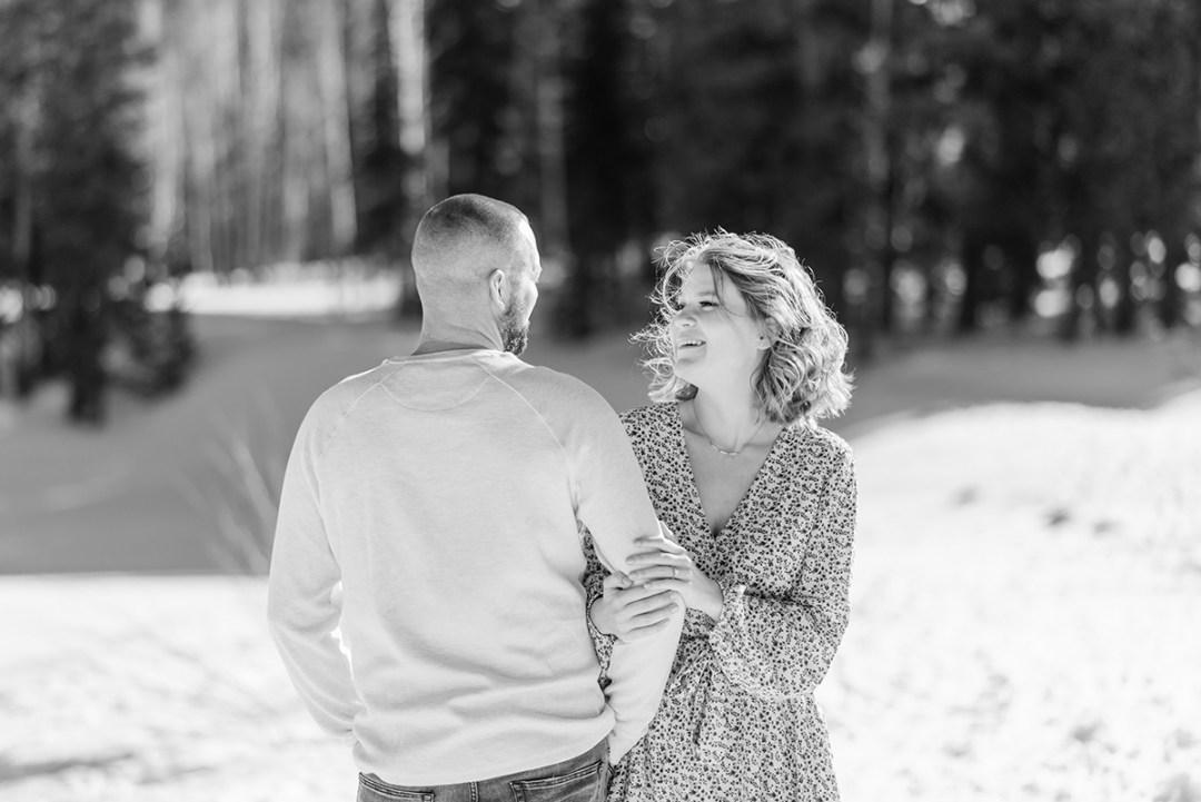 Lilli & Ryan   Engagement Photos on the Grand Mesa