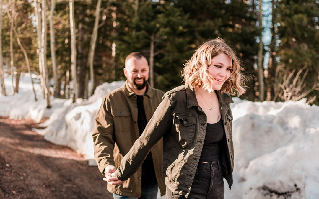 Lilli & Ryan | Engagement Photos on the Grand Mesa