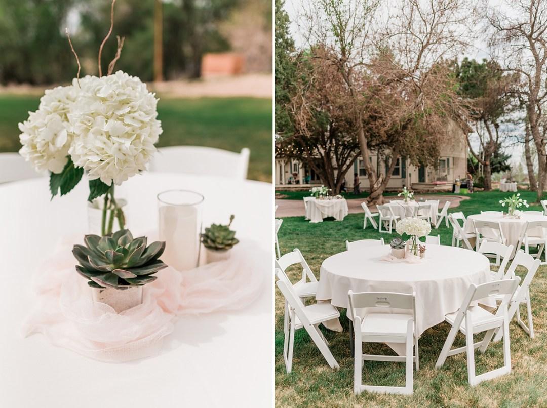 Chelsea & Jared | Backyard Micro Wedding in Grand Junction
