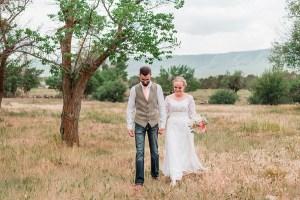 Addison & Chris   VRBO wedding on the Grand Mesa