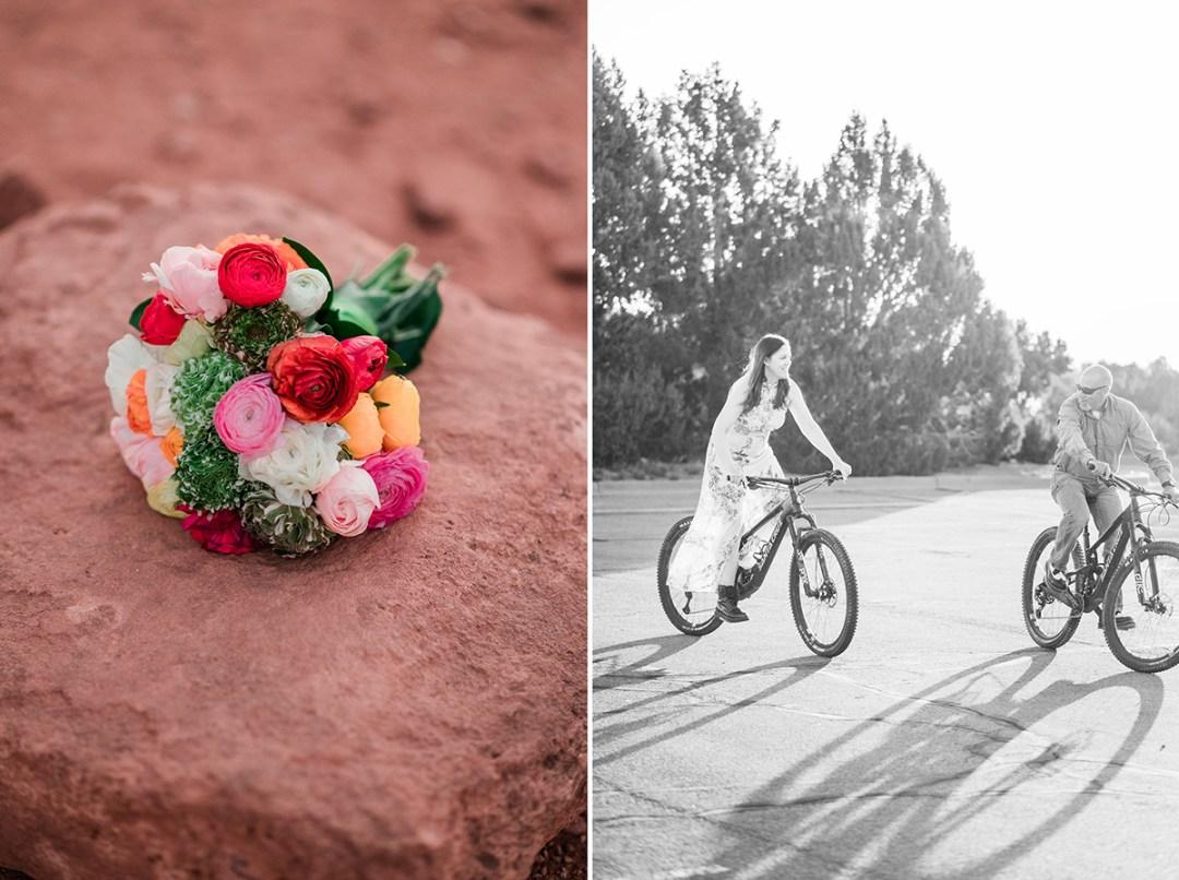 Abby & Craig   Mountain Biking Elopement
