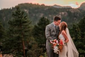Erika & John | Black Canyon Inn Wedding in Estes Park
