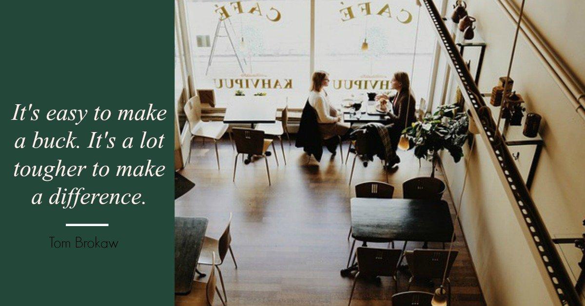 amandaricks.com/make-a-difference-biz-quote/