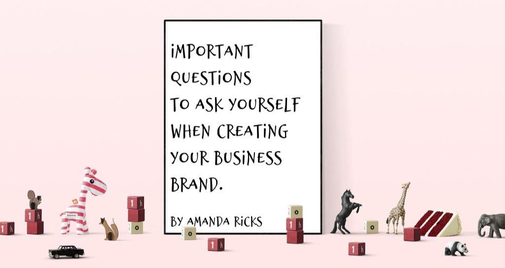 new brand questions by amandaricks.com