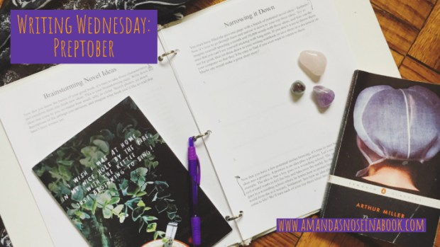 Writing Wednesday: Preptober