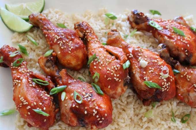 Sriracha Chicken!
