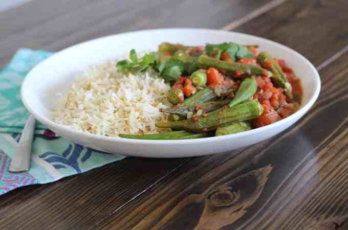 Okra Tomato Stew Recipe
