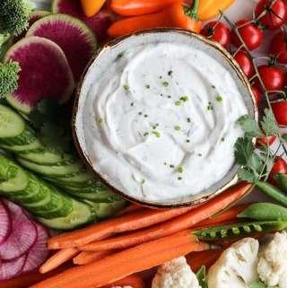 Amanda's Plate veggie dip