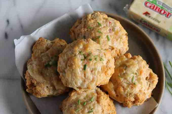 Pepper Jack Cheddar Biscuits