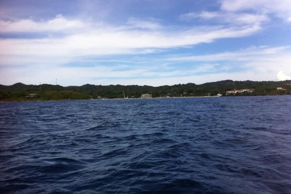 Roatan shore