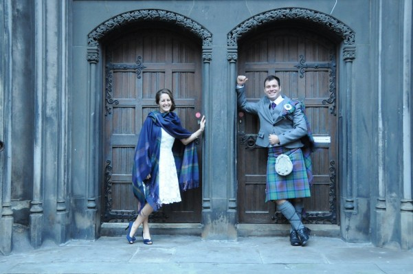 Royal mile wedding photographer