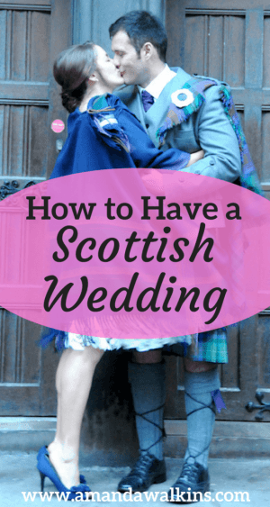 How to plan a Scottish wedding if you're not Scottish (Photo credit Carolyn Henry Photography)