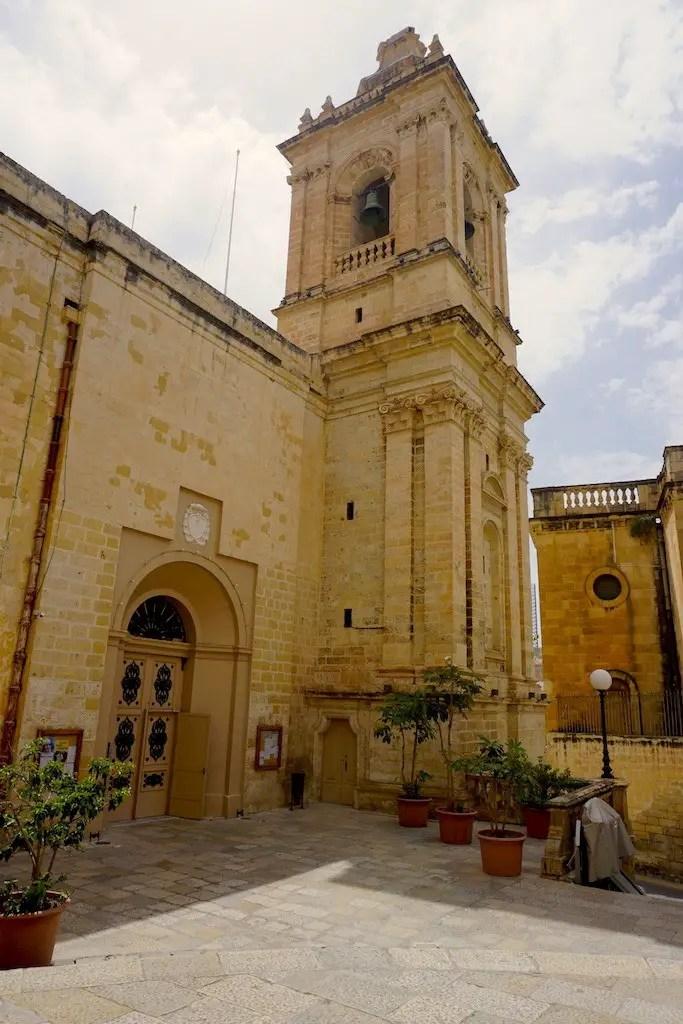 Historic old Vittoriosa. The Three Cities in Malta