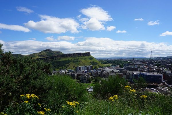 Natural beauty in Edinburgh