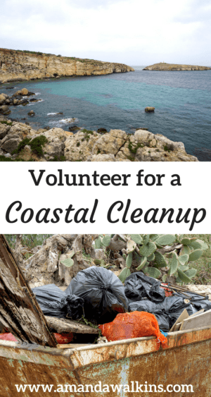 Volunteer for a coastal cleanup in your community