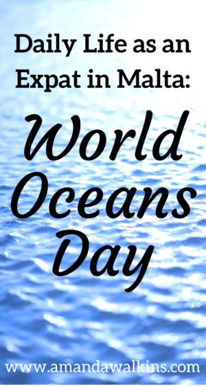 Daily life as an expat in Malta: World Oceans Day and A Plastic Ocean