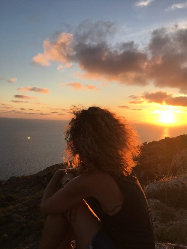 When friends visit your expat home, you take in small moments of joy, like a stunning sunset at the Dingli Cliffs in Malta.
