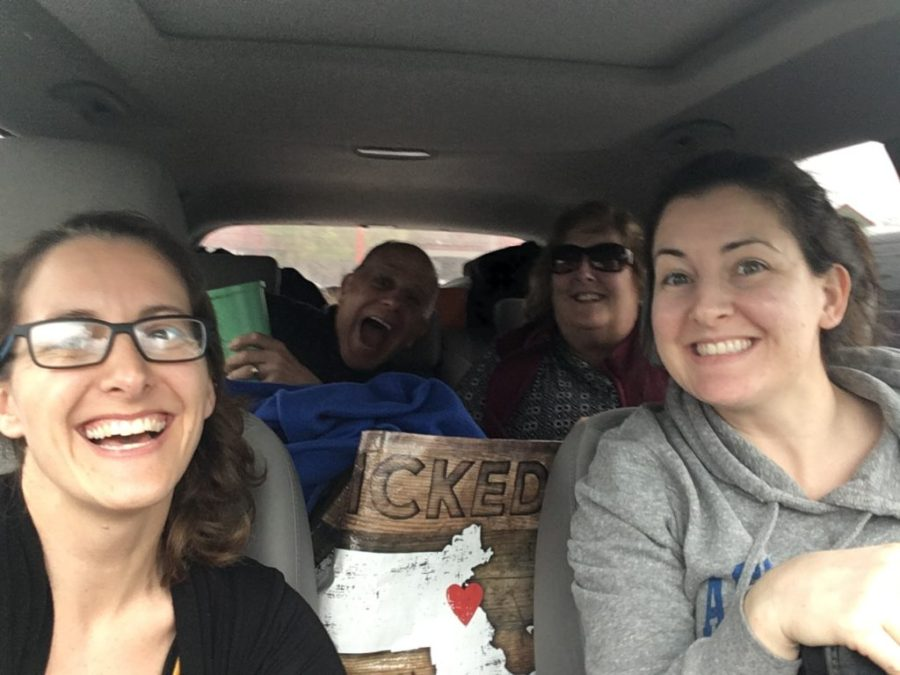 Amanda Walkins family roadtrip