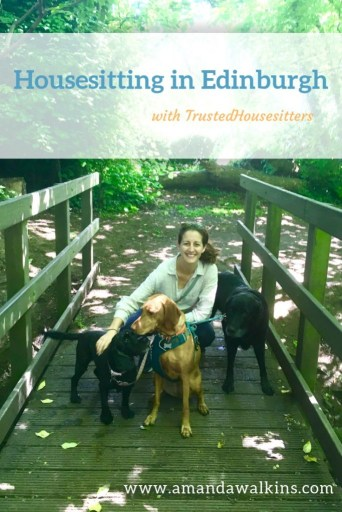 Find out what housesitting in Edinburgh with TrustedHousesitters could look like, from American expat blogger Amanda Walkins.