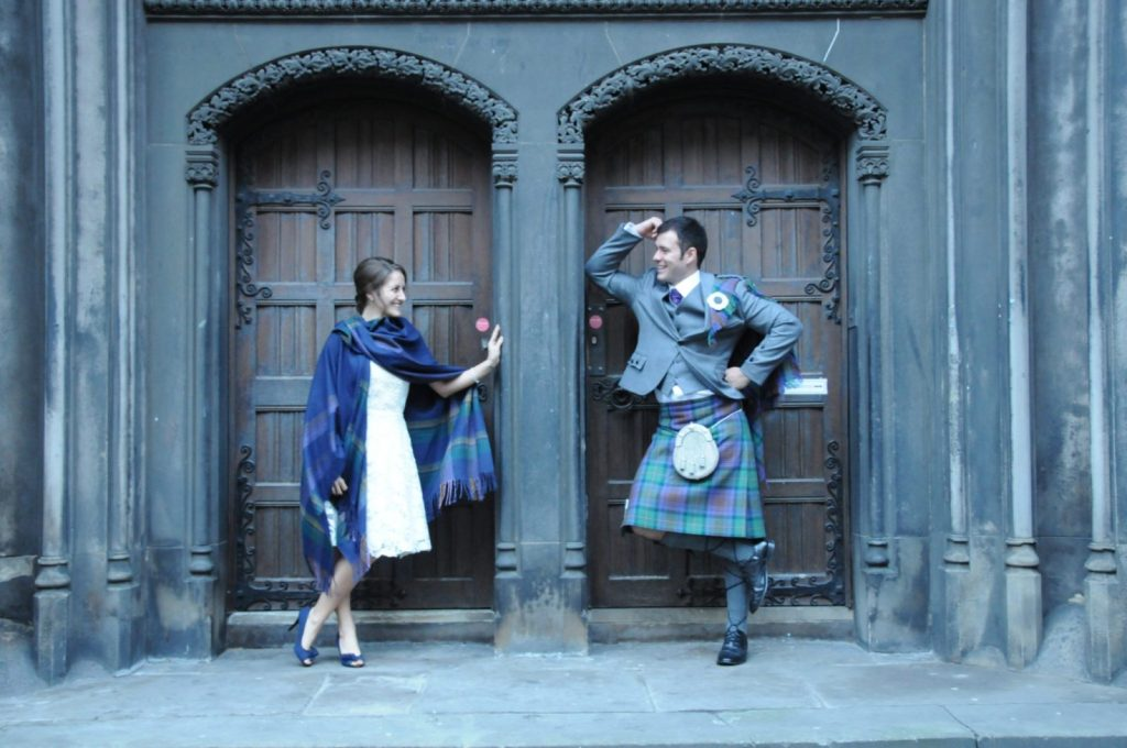 Edinburgh wedding Amanda Walkins and Jonathan Clarkin Carolyn Henry Photography