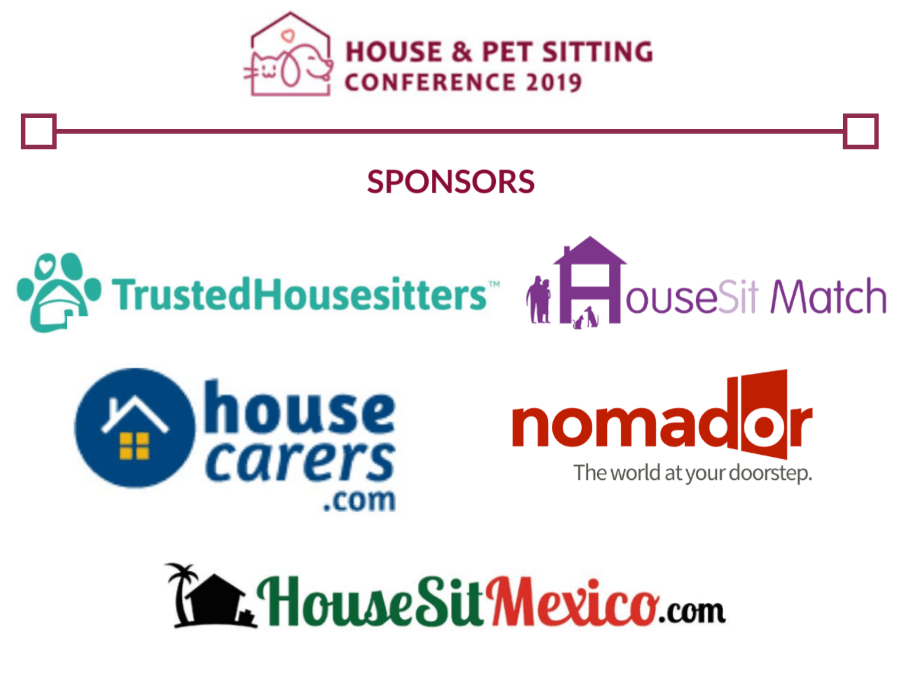 House &  Pet Sitting Conference 2019 sponsors list