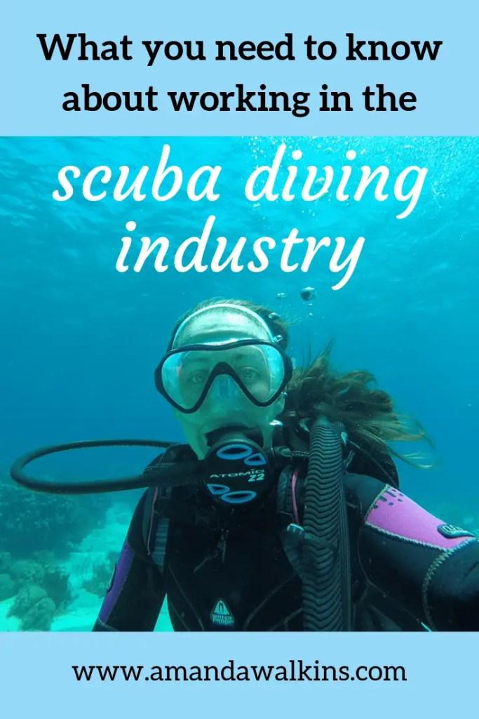 Amanda Walkins scuba diving selfie